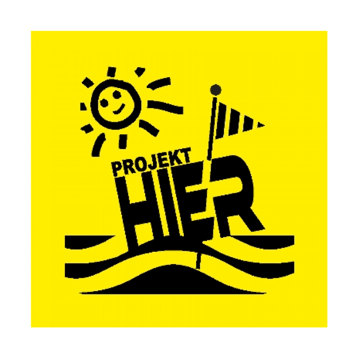 Logo/Aufkleber Projekt HIER
