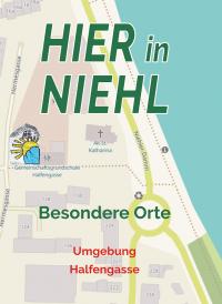 HIER in Niehl - besondere Orte / Faltplan